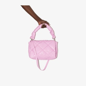 Stand Studio pink Wanda padded shoulder bag