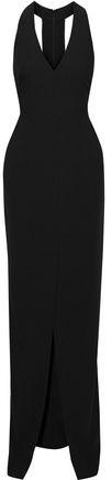 Black Halo Eve By Laurel Berman Raelyn Stretch-crepe Gown