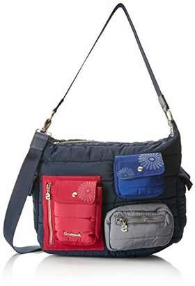 Desigual Bols_magic Memphis, Women's Shoulder Bag,14x26.3x32 cm (B x H T)