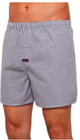 Mitch Dowd Gingham Check Yarn Dye Woven Boxers