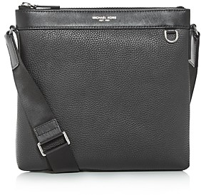 Michael Kors Greyson Leather Messenger Bag