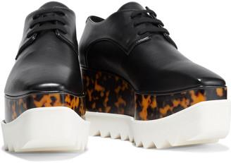 Stella McCartney Elyse Faux Leather Platform Brogues