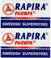 Rapira Swedish Supersteel Double Edge Blades