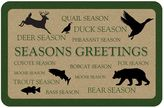 Seasons The Softer Side by Weather GuardTM Greetings Animals Kitchen Mat