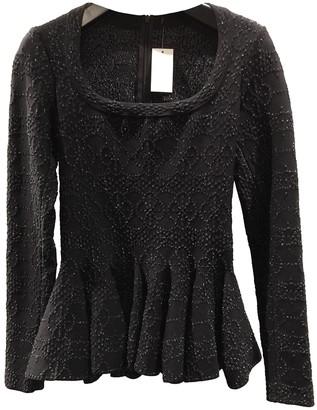 Alaia Black Wool Knitwear for Women