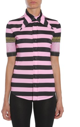 Givenchy Striped Short Sleeve Shirt