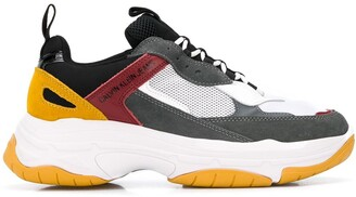 Calvin Klein Jeans Marvin mesh panelled sneakers