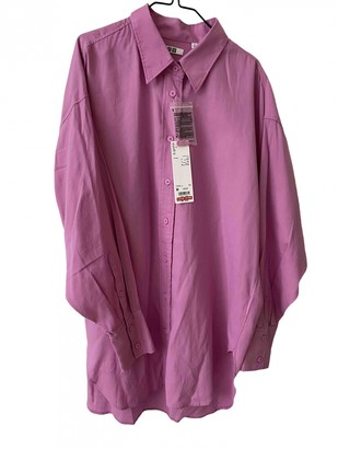 Uniqlo Pink Cotton Top for Women