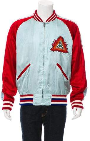 Gucci 2016 Satin Bomber Jacket