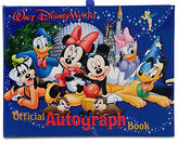 Disney Official Walt World Resort Autograph Book