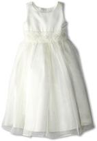 Us Angels Bead Sash Organza Dress (Little Kids)