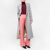 Paul Smith Women's Grey Wool Double-Breasted Long Coat