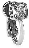 Dinh Van Le Cube 18K White Gold & Diamond Single Ear Cuff