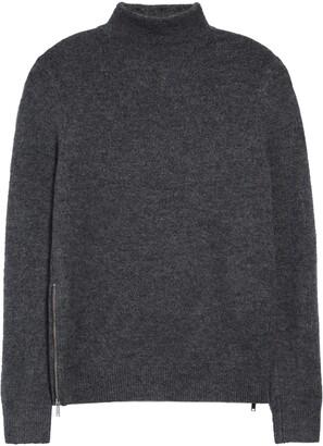 Topman Harlow Ribbed Turtleneck Sweater