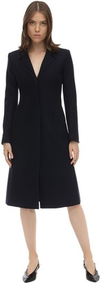 Coperni Tailored Wool Blend Midi Coat
