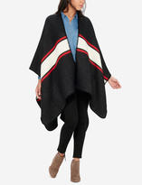 The Limited Striped Poncho