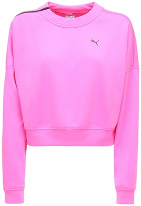 Puma Select Cropped Techincal Sweatshirt