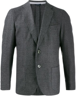 Tombolini fitted single-breasted blazer