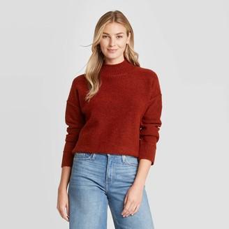 Universal Thread Women's Mock Turtleneck Pullover Sweater - Universal ThreadTM