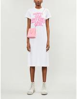 Comme des Garcons Slogan-print cotton-jersey T-shirt dress