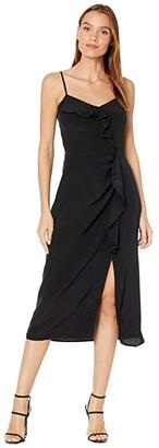 Parker Ellender Dress (Black) Women's Clothing