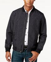 Alfani Men's Mock Neck Texture Full-Zip Jacket, Only at Macy's