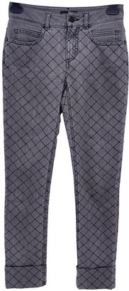 Chanel Grey Cotton - elasthane Jeans for Women