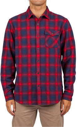 Rip Curl Men Juanico Yarn-Dyed Plaid Flannel Shirt