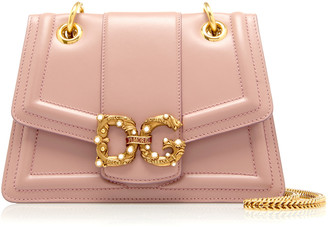 Dolce & Gabbana Amore Small Leather Shoulder Bag
