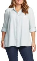 Tart Plus Size Women's Caroline Roll Sleeve Top