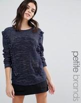 Vero Moda Petite Frill Side Sweater