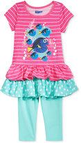 Disney Disney's® Finding Dory 2-Pc. Shirt & Leggings Set, Toddler & Little Girls (2T-6X)