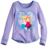 Disney Frozen Long Sleeve Thermal Tee for Girls