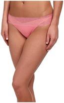 OnGossamer Cabana Cotton Breeze Thong 022853