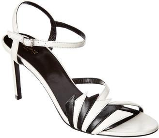 Celine Sharp Leather Sandal