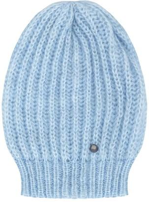 You By Tokarska Hat With Welt Light Blue