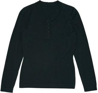 Alaia Green Wool Knitwear