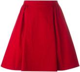 RED Valentino gathered skirt - women - Cotton/Spandex/Elastane - 40