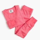 J.Crew Girls' pajama set in mini stripe
