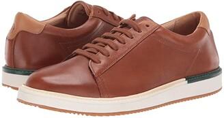 Hush Puppies Heath Sneaker (Black Leather) Men's Shoes