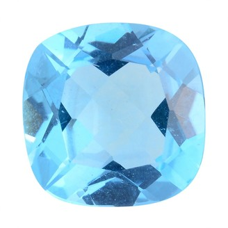 Shop Lc Making Loose Gemstone Electric Blue Topaz Cush 11x11 mm