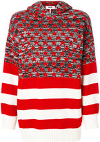 MSGM striped and patterned jumper