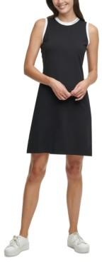Calvin Klein Logo Shirtdress