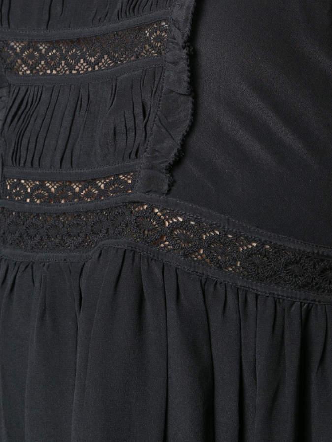 Ulla Johnson tie shoulder asymmetric dress