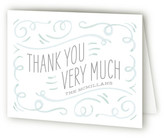 Minted Teacup Baby Shower Thank You Cards