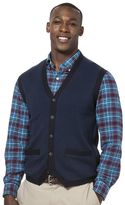 Chaps Men's Classic-Fit Herringbone Vest