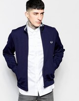Fred Perry Tracktop With Laurel Wreath Logo
