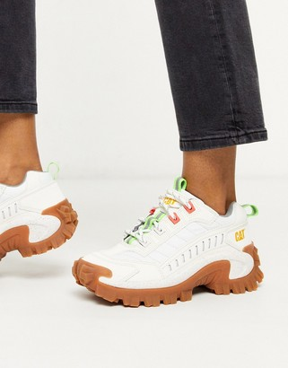 CAT Footwear CAT Intruder chunky trainers in white