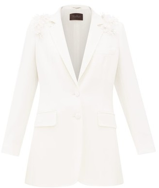 Max Mara Essere Suit Jacket - White