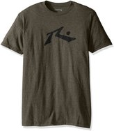 Rusty Men's Hay Day Snow Short Sleeve T-Shirt